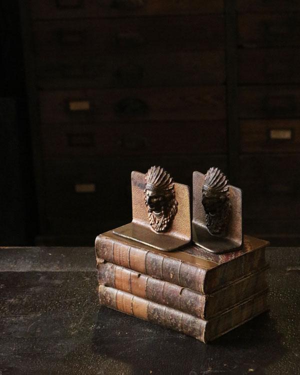 Indian Bookend Pair Small|インディアン ブックエンド ペア スモール
