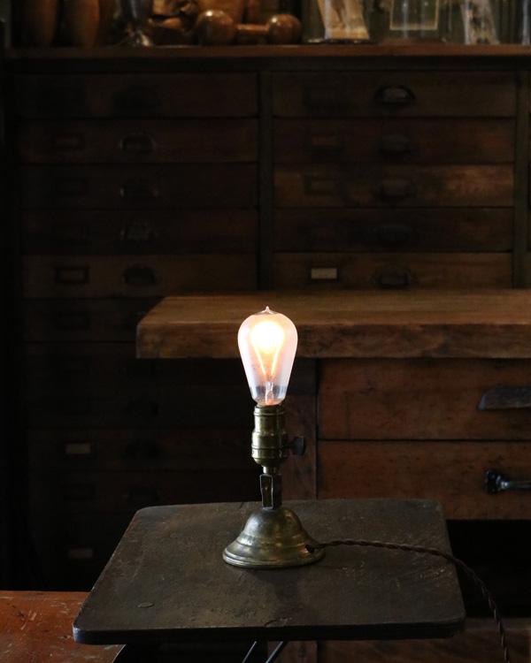Small Brass Table Lamp スモール ブラステーブルランプ