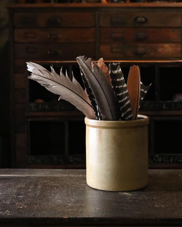 Old Crock A|陶器カトラリー立て A