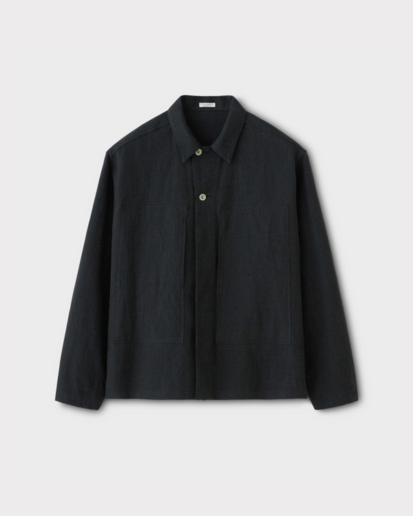 PHIGVEL フィグベル|MIL WORK SHIRT JACKET ミルワークシャツジャケット【CARBON】