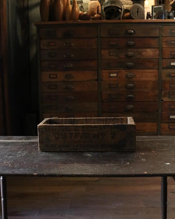 Shoe Repairing Kit Wood Box|シューリペアキットボックス
