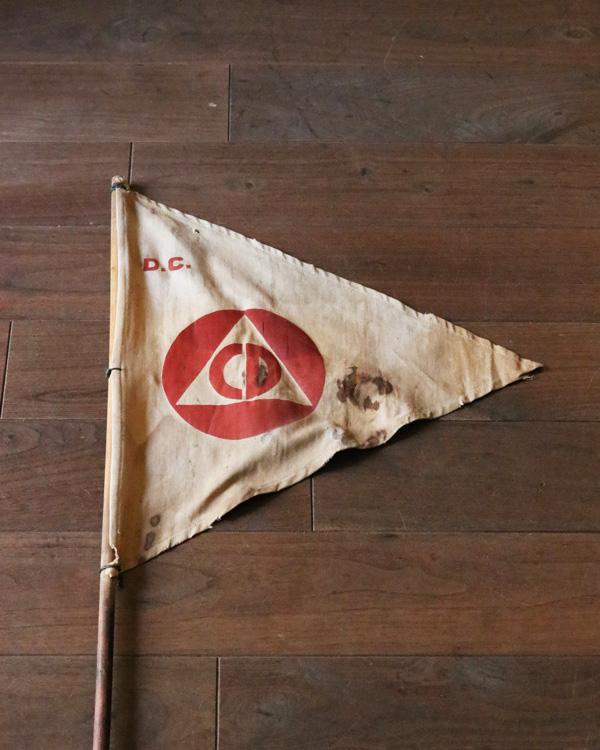 """Defence"" Old Flag|""Defence"" フラッグ"