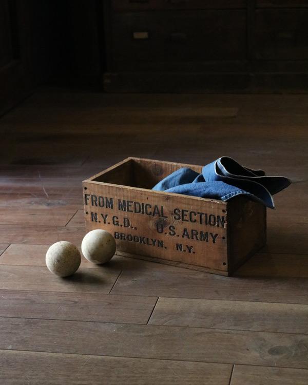 """U.S.ARMY"" Wood Box|""U.S.ARMY"" ウッドボックス"