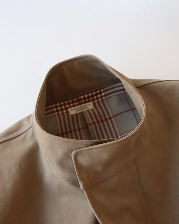 PHIGVEL フィグベル|BONDING SMOCK COAT ボンディングスモックコート【KHAKI OLIVE】