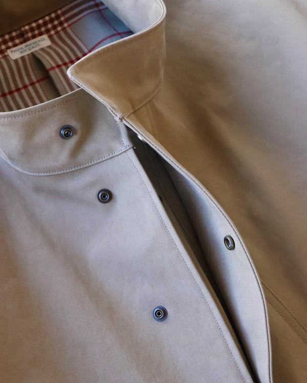 PHIGVEL フィグベル BONDING SMOCK COAT ボンディングスモックコート【KHAKI OLIVE】
