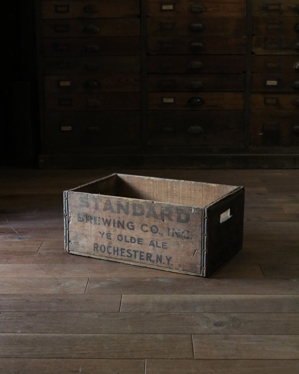 """STANDARD BREWING"" Wood Box