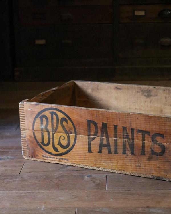 """B.P.S"" Wood Box A|""B.P.S"" ウッドボックス A"