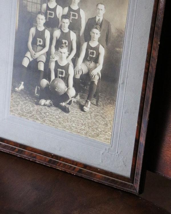 1920' Team Photo|1920年代のフレームフォト