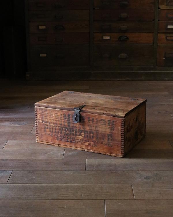 Jointed Wood Box w/lid|木組みの蓋付きウッドボックス