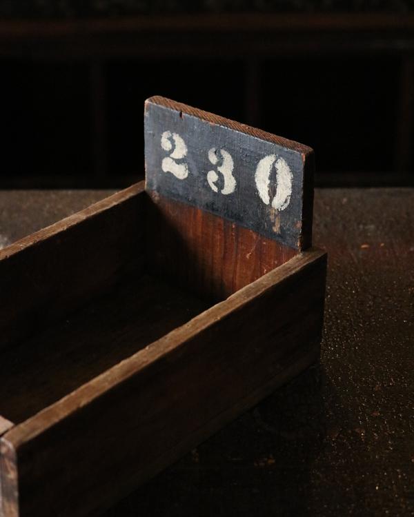 "Factory Wood Tray ""230""|ファクトリーウッドトレー ""230"""
