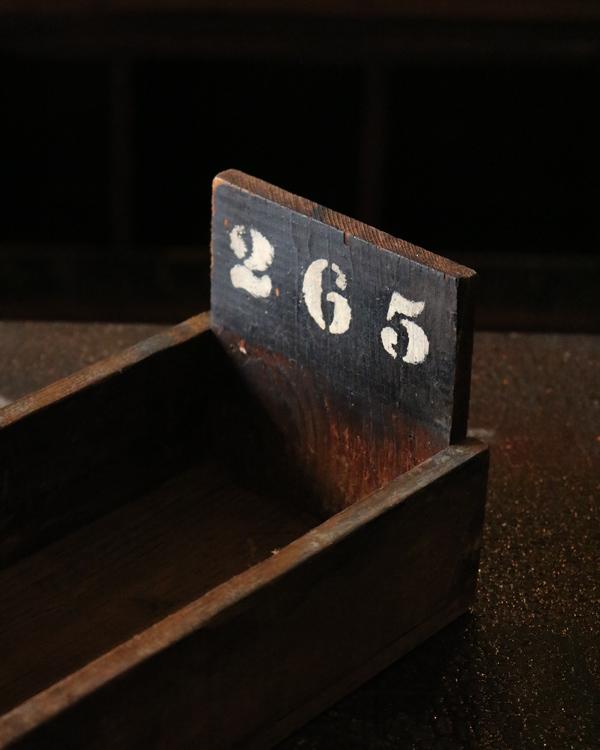 "Factory Wood Tray ""265""|ファクトリーウッドトレー ""265"""