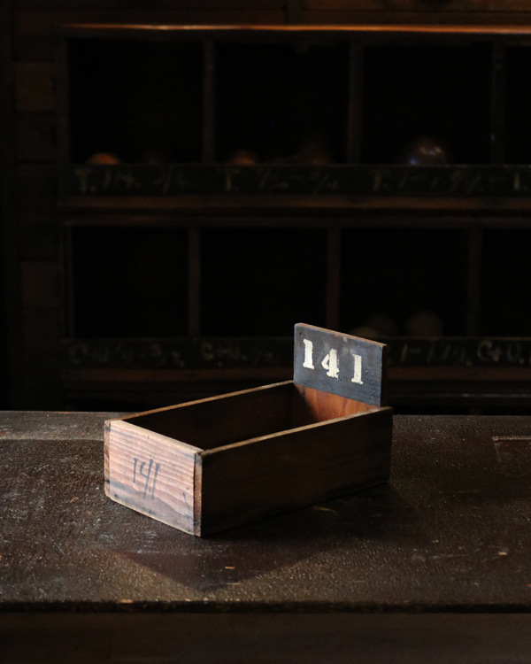 "Factory Wood Tray ""141""|ファクトリーウッドトレー ""141"""