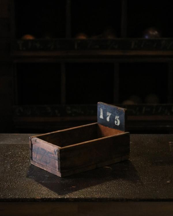 "Factory Wood Tray ""175""|ファクトリーウッドトレー ""175"""