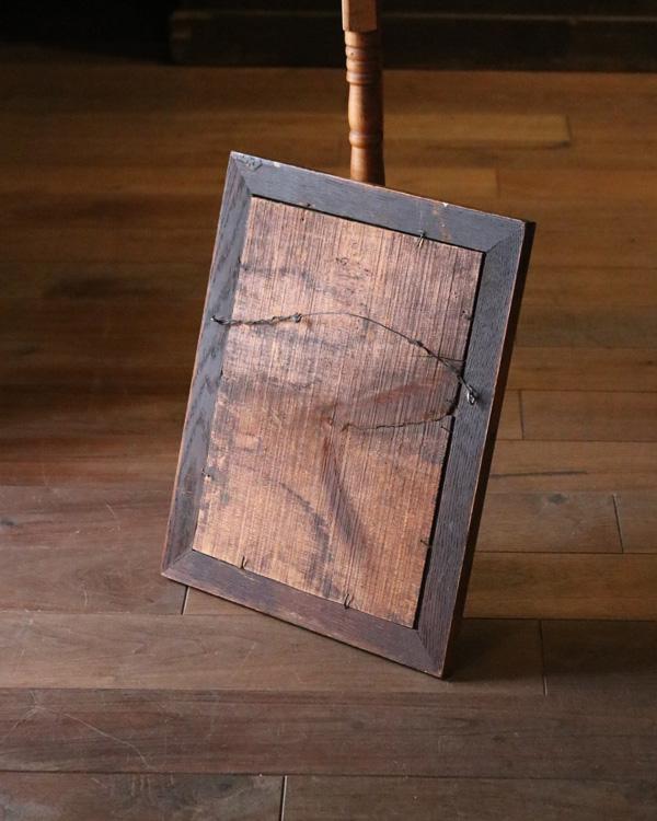 Oak Frame Mirror|オーク材のミラー