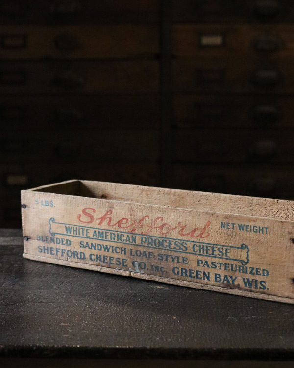 """Shefford"" Cheese Box