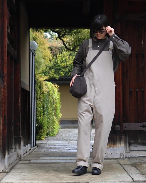 PHIGVEL フィグベル|DRAWSTRING BAG S ドローストリング バッグ【CARBON】