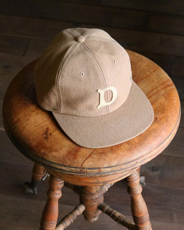 THE H.W.DOG & Co. ザ エイチダブリュー ドッグアンドコー|BASEBALL CAP ベースボールキャップ【BEIGE】