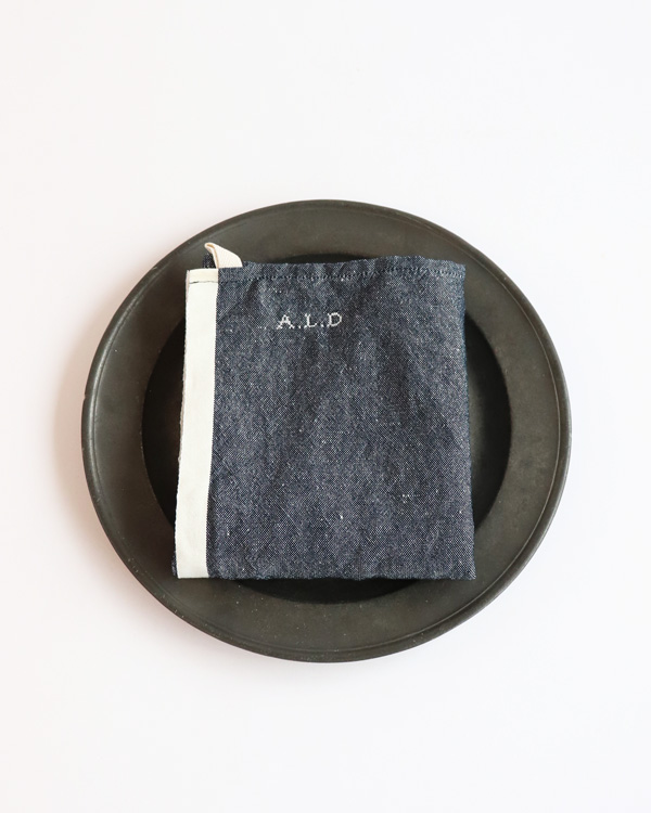 ALDIN アルディン|トルション【CHAMBRAY-NAVY】
