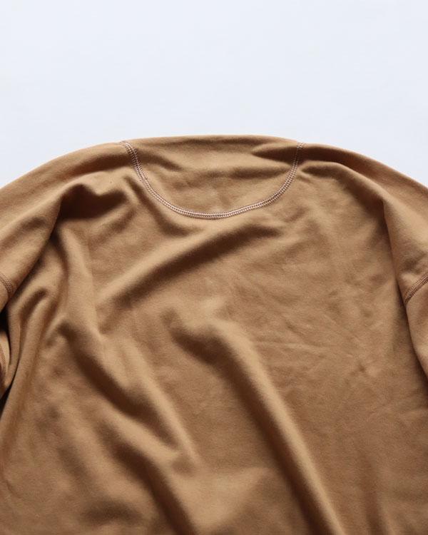 OLDE HOMESTEADER CREW NECK SHORT SLEEVE|オールドホームステッダー クルーネックショートスリーブ【CAMEL】
