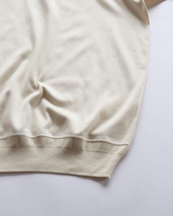 OLDE HOMESTEADER CREW NECK SHORT SLEEVE|オールドホームステッダー クルーネックショートスリーブ【IVORY】