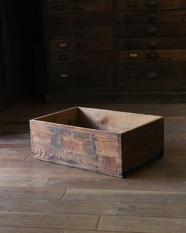 """The Martin-Senour Co."" Wood Box