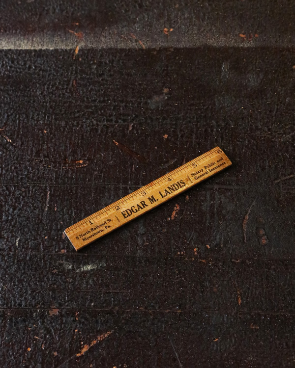 Advertising Ruler Small D|物差し D
