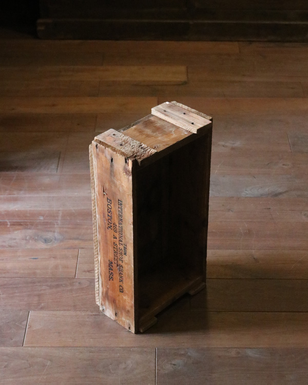 """INT. SHOE SHANK Co."" Wood Box