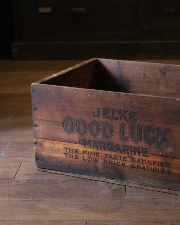 """GOOD LUCK"" Wood Box|""GOOD LUCK""ウッドボックス"