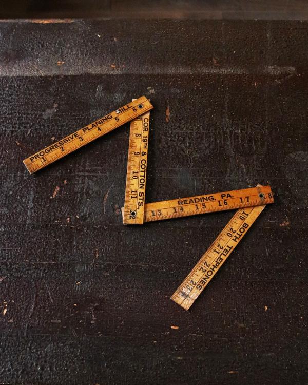 Advertising Folding Ruler|折りたたみ物差し