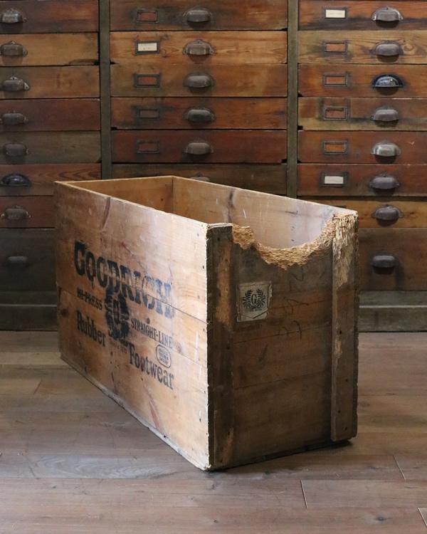 """GOODRICH"" Wood Box| ""GOODRICH"" ウッドボックス"