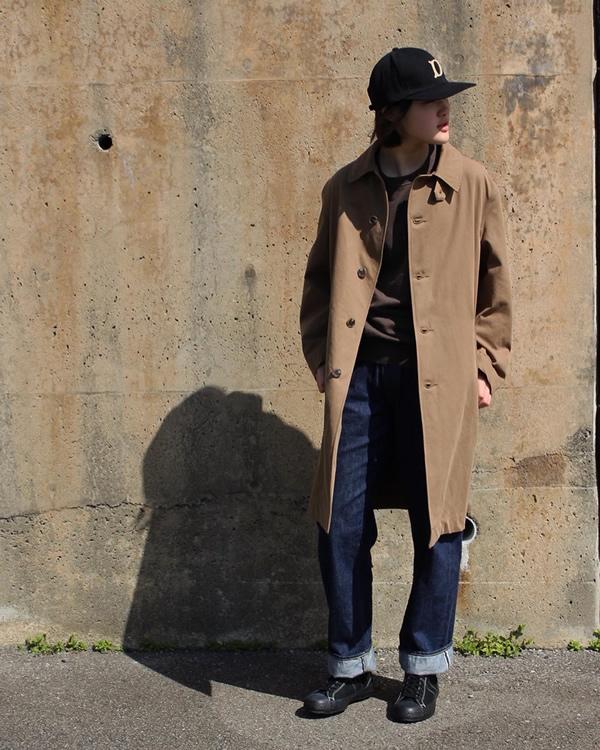 PHIGVEL フィグベル|DUSTER OVER COAT ダスターオーバーコート【TOBACCO】