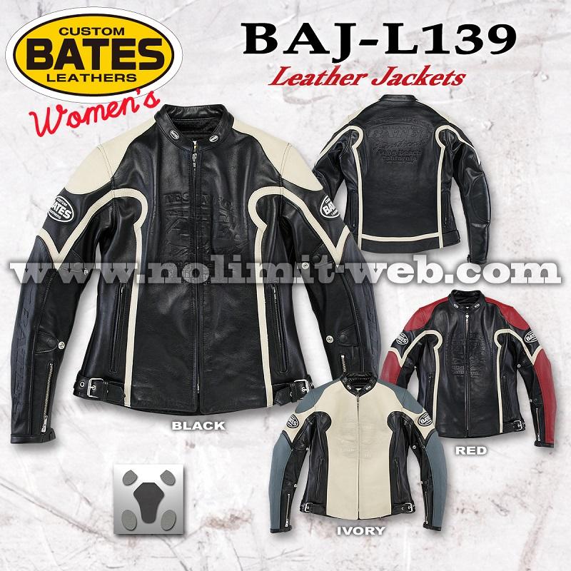 BAJ-L139-Ladys ベイツ レディス レザージャケット