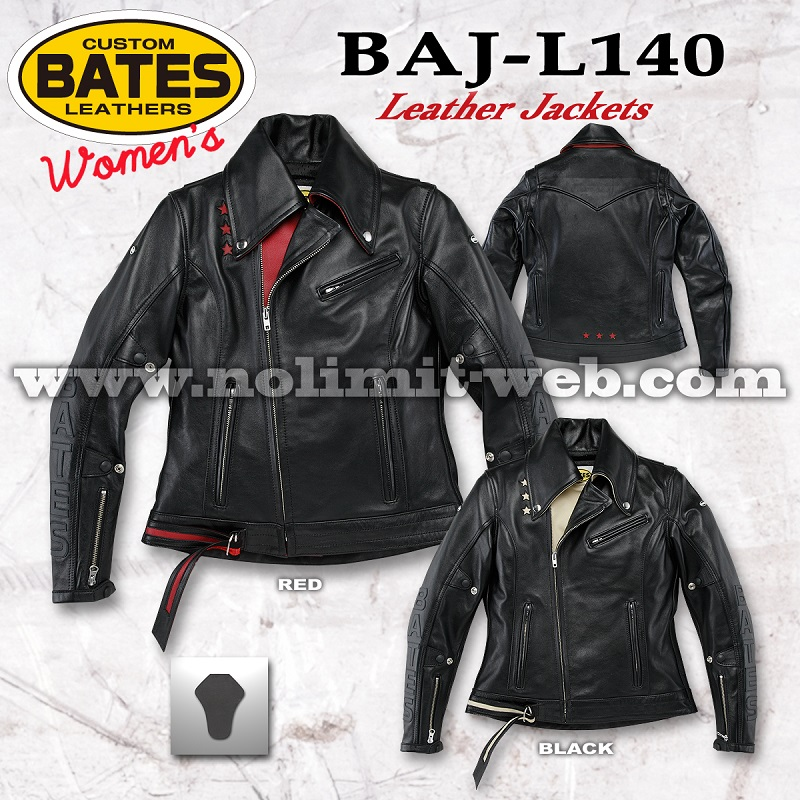BAJ-L140-Ladys ベイツ レディス レザージャケット