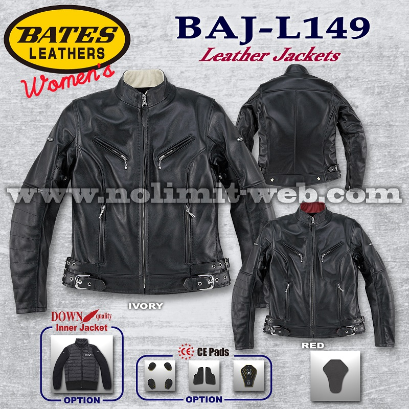 BAJ-L149-Ladys ベイツ レディス レザージャケット