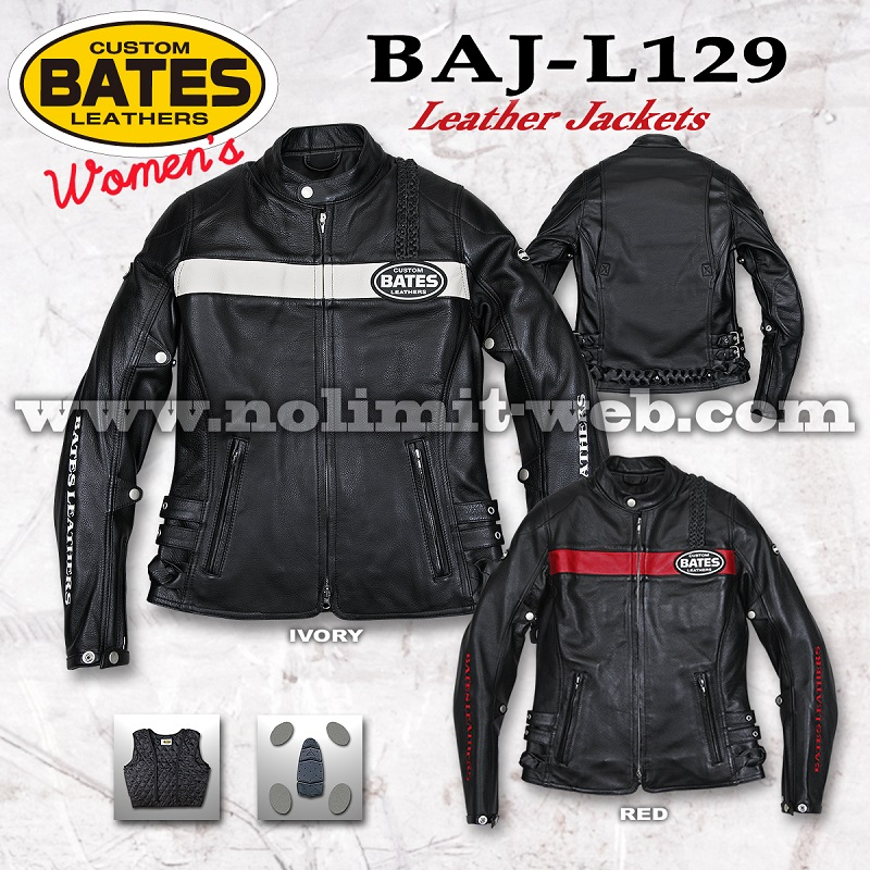 BAJ-L129-Ladys ベイツ レディス レザージャケット