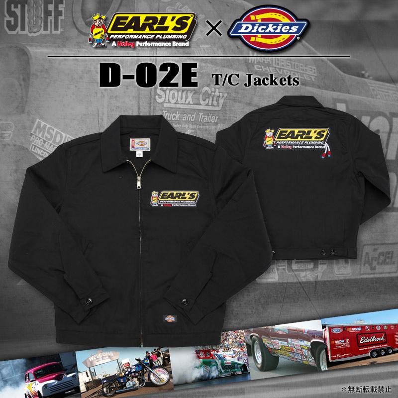 D-02E Dickies TCジャケット ※EARL'Sキーホルダー付