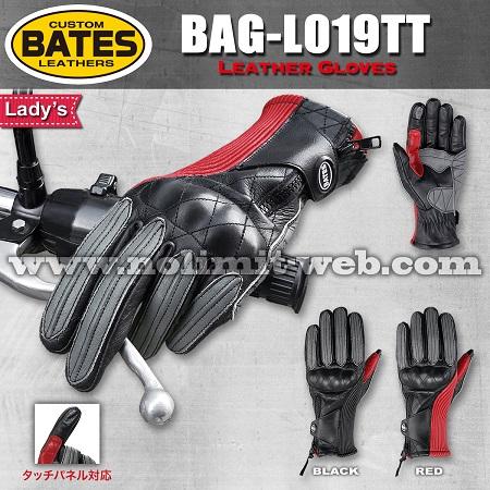 BAG-L019TT-Ladys ベイツ レディス レザーグローブ