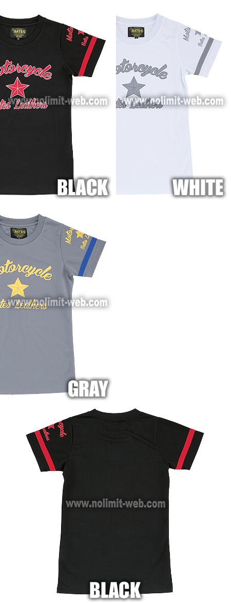 BAT-LT010-Ladys ベイツ レディス クールテックTシャツ