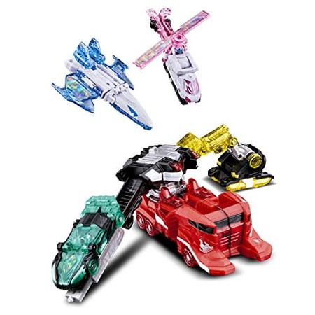 【購入特典:キラメイジャーおでかけバッグ】魔進合体 DXキラメイジン魔進武装セット
