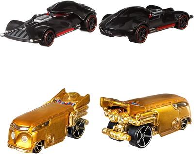 1/64 Hot Wheels スタジオ キャラクターカー スター・ウォーズ 8個アソート [GJH91-986F]