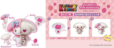 【2BOXセット】KAITAI FANTASY 第1弾( ハローキティ マイメロディ)&第2弾(サンリオキャラクターズ)