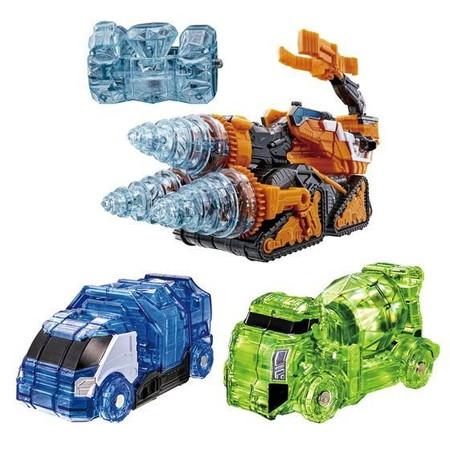 魔進変形 DXギガントドリラー 魔進武装セット 「魔進戦隊キラメイジャー」