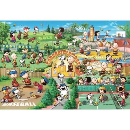 【2021年2月出荷 予約商品】スヌーピー レッツプレイスポーツ! 「PEANUTS-ピーナッツ-」 ジグソーパズル 300ピース [28-804S]