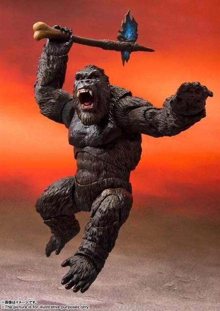 【箱傷み有り】【新品未開封】S.H.モンスターアーツ KONG from Movie 『GODZILLA VS. KONG』(2021) コング