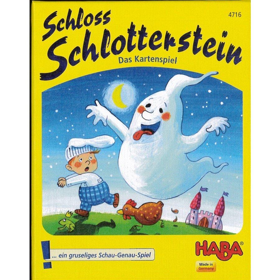おばけの試験カードゲーム (Schloss Schlotterstein) [日本語訳付き]