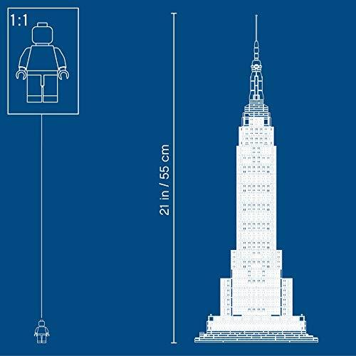 LEGO エンパイア・ステート・ビルディング 「レゴ アーキテクチャ」 21046