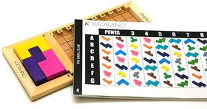 ギガミック Gigamic KATAMINO カタミノ [日本語訳付き] [正規輸入品] ボードゲーム