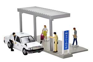 1/64 タクシー乗り場 「ジオコレ カースナップ 04a」 [312345]