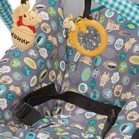 ディズニー ベビー くまのプーさん スナッグ フィット フォールディング バウンサー 新生児 バウンサー ゆりかご 出産祝い ティガー トイバー メロディ バイブレーション 軽量 コンパクト 赤ちゃん Disney Baby Geo Pooh Snug Fit Folding Bouncer