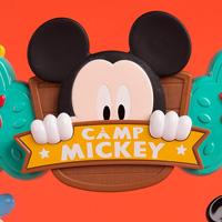 ディズニー ベビー ミッキーマウス キャンピング with フレンズ アクティビティ ソーサー ベビージム 子供 ベビートイ おもちゃ 知育玩具 Disney Baby Mickey Mouse Camping with Friends Activity Saucer